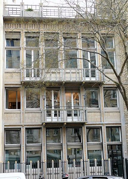 Photo du Monument Historique Hôtel Guadet situé à Paris 16e Arrondissement
