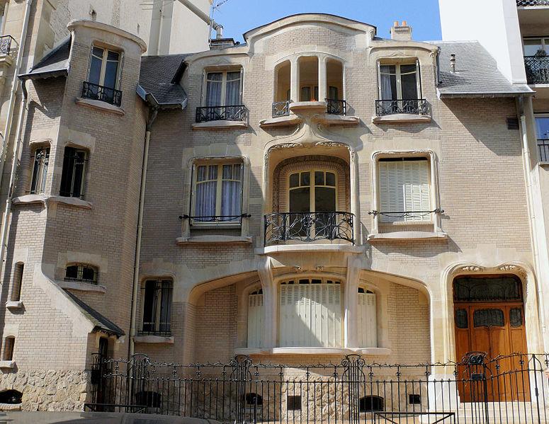 Photo du Monument Historique Ancien hôtel Mezzara situé à Paris 16e Arrondissement