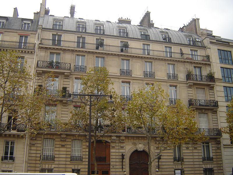 Photo du Monument Historique Hôtel situé à Paris 16e Arrondissement
