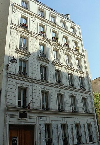 Photo du Monument Historique Immeuble, actuellement musée Georges Clemenceau situé à Paris 16e Arrondissement