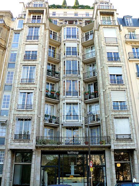 Photo du Monument Historique Immeuble situé à Paris 16e Arrondissement