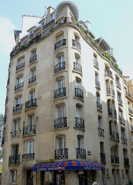 Photo du Monument Historique Immeubles Agar situé à Paris 16e Arrondissement