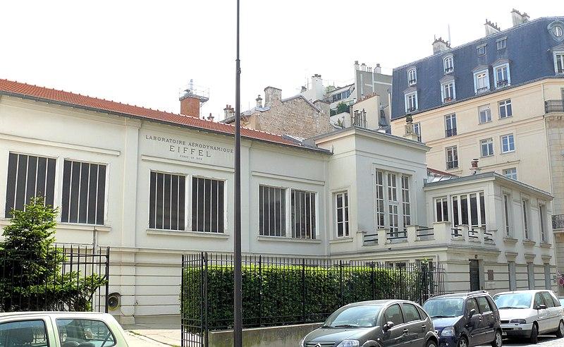 Photo du Monument Historique Laboratoire d'aérodynamisme de Gustave Eiffel situé à Paris 16e Arrondissement
