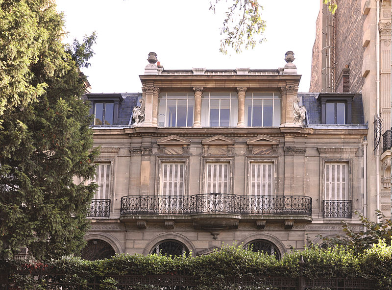 Photo du Monument Historique Musée d'Ennery situé à Paris 16e Arrondissement