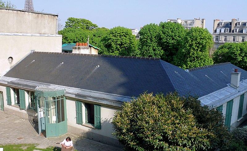 Photo du Monument Historique Pavillon de Balzac, actuellement musée situé à Paris 16e Arrondissement