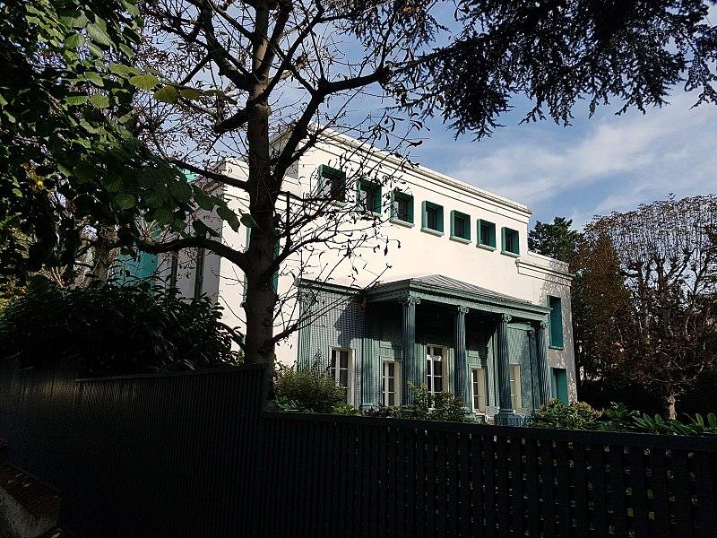 Photo du Monument Historique Pavillon situé à Paris 16e Arrondissement