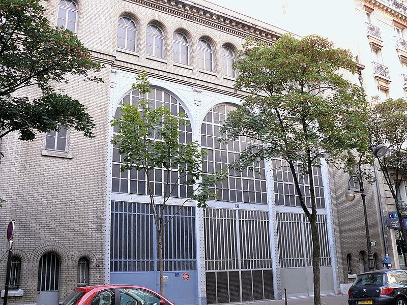 Photo du Monument Historique Sous-station Auteuil situé à Paris 16e Arrondissement