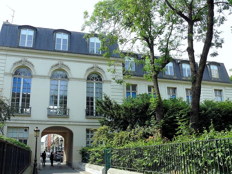 Photo du Monument Historique Château des Ternes situé à Paris 17e Arrondissement