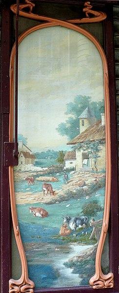 Photo du Monument Historique Crémerie-épicerie situé à Paris 17e Arrondissement