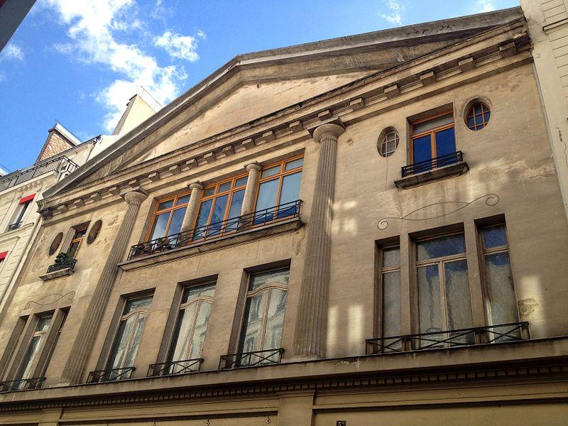 Photo du Monument Historique Salle Wagram situé à Paris 17e Arrondissement