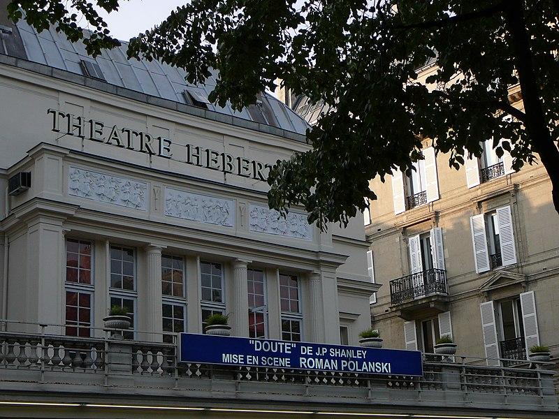Photo du Monument Historique Théâtre des Arts  , actuellement théatre Hébertot situé à Paris 17e Arrondissement