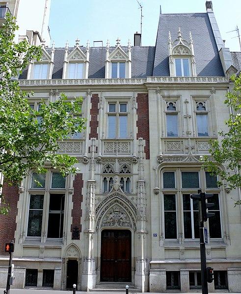 Photo du Monument Historique Hôtel particulier situé à Paris 17e Arrondissement