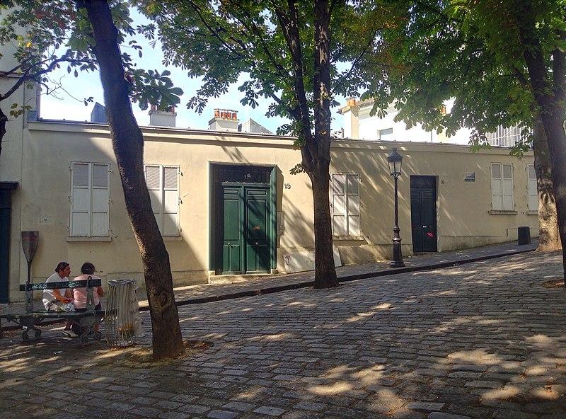 Photo du Monument Historique Le Bateau Lavoir situé à Paris 18e Arrondissement