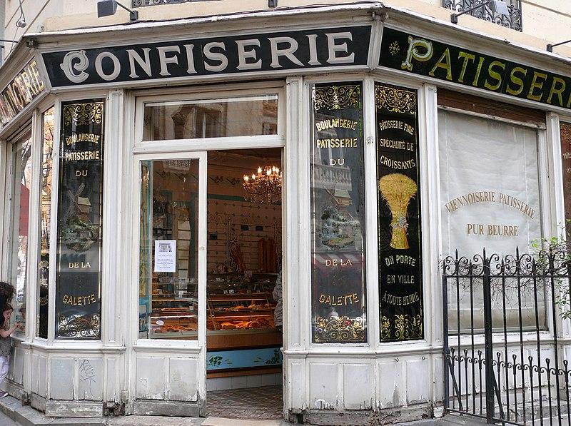 Photo du Monument Historique Boulangerie situé à Paris 18e Arrondissement