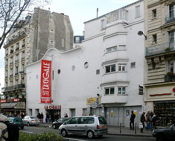 Photo du Monument Historique Café-Concert La Cigale situé à Paris 18e Arrondissement