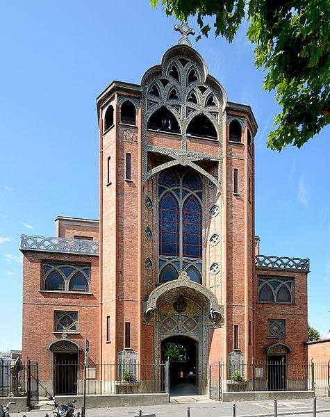 Photo du Monument Historique Eglise Saint-Jean-de-Montmartre situé à Paris 18e Arrondissement