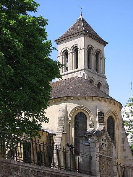 Photo du Monument Historique Eglise Saint-Pierre-de-Montmartre situé à Paris 18e Arrondissement