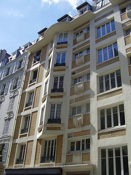 Photo du Monument Historique Immeuble situé à Paris 18e Arrondissement