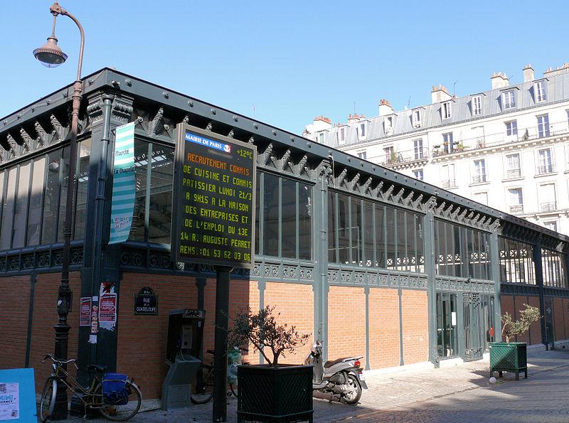 Photo du Monument Historique Marché de la Chapelle situé à Paris 18e Arrondissement