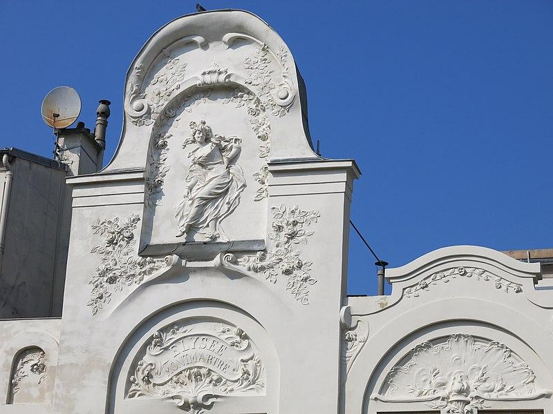 Photo du Monument Historique Théâtre de l'Elysée-Montmartre, ancien dancing situé à Paris 18e Arrondissement