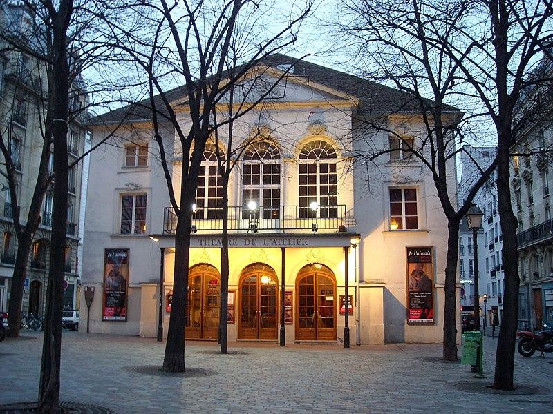 Photo du Monument Historique Théâtre Montmartre  , puis Théâtre de l'Atelier (ou Charles-Dullin) situé à Paris 18e Arrondissement