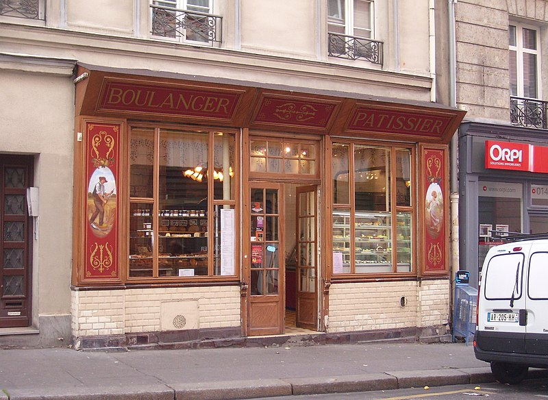 Photo du Monument Historique Boulangerie situé à Paris 19e Arrondissement