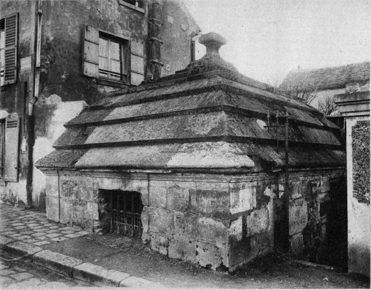 Photo du Monument Historique Eaux du Pré-Saint-Gervais : Regard du Bernage situé à Paris 19e Arrondissement