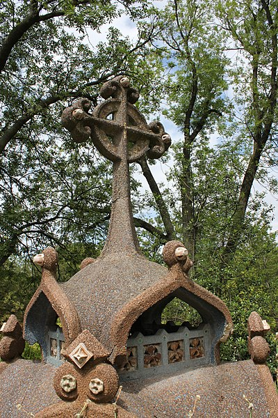 Photo du Monument Historique Cimetière de l'Est dit cimetière du Père Lachaise situé à Paris 20e Arrondissement
