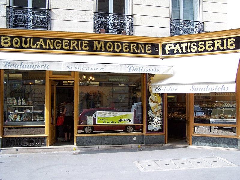 Photo du Monument Historique Boulangerie-Pâtisserie situé à Paris 5e Arrondissement