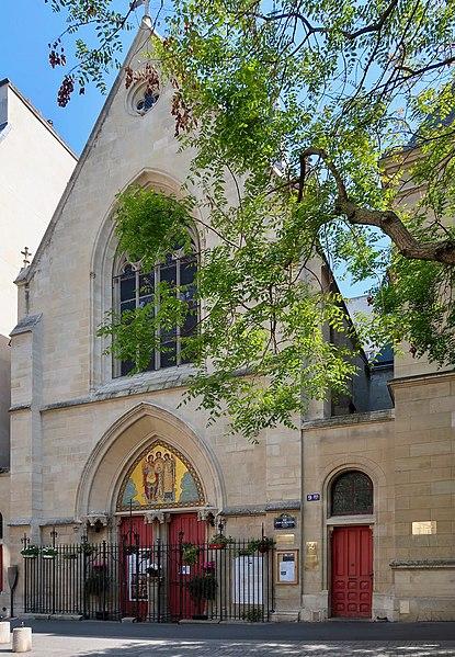 Photo du Monument Historique Ancien collège de Beauvais, actuelle église orthodoxe roumaine situé à Paris 5e Arrondissement