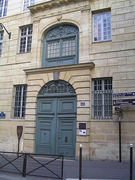 Photo du Monument Historique Collège des Ecossais situé à Paris 5e Arrondissement
