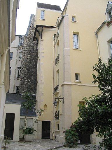 Photo du Monument Historique Collège Fortet situé à Paris 5e Arrondissement