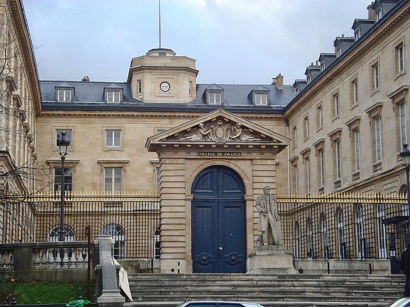 Photo du Monument Historique Collège de France situé à Paris 5e Arrondissement