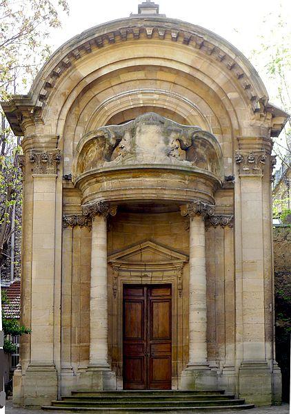 Photo du Monument Historique Ancien Collège des Irlandais ou Collège des Lombards, Eglise Saint-Ephrem situé à Paris 5e Arrondissement
