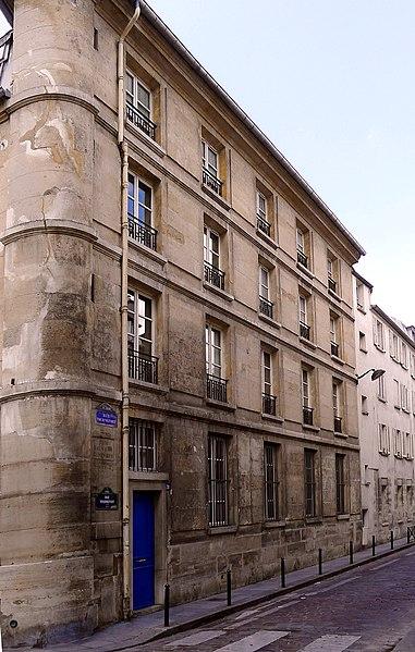 Photo du Monument Historique Ancien couvent des Dames Bénédictines du Saint-Sacrement situé à Paris 5e Arrondissement