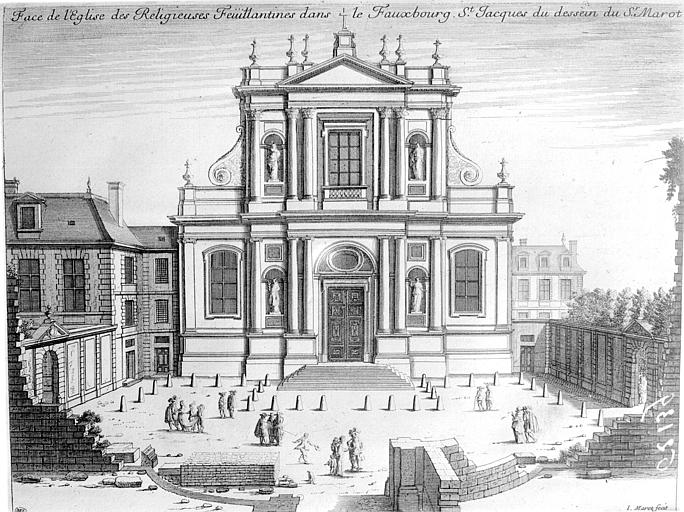 Photo du Monument Historique Couvent des Feuillantines situé à Paris 5e Arrondissement