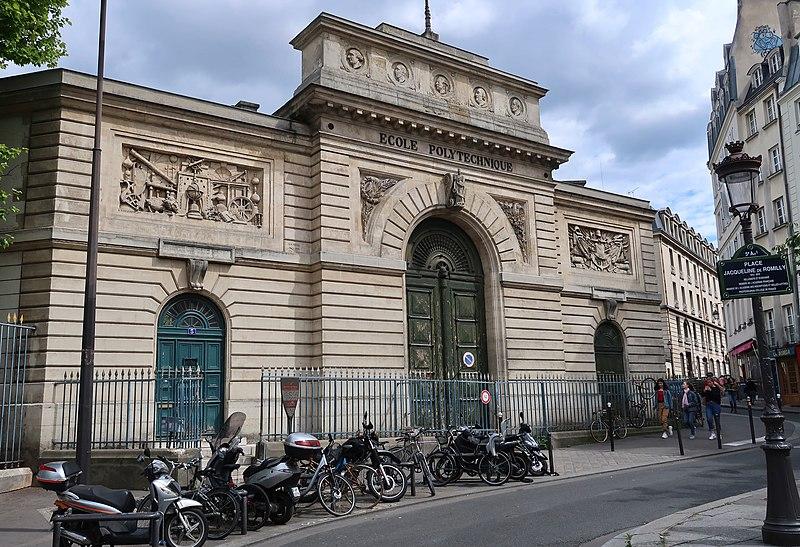 Photo du Monument Historique Ecole polytechnique  (Voir aussi : Enceinte de Philippe-Auguste) situé à Paris 5e Arrondissement