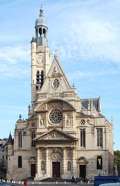 Photo du Monument Historique Eglise Saint-Etienne-du-Mont situé à Paris 5e Arrondissement