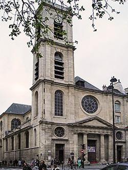 Photo du Monument Historique Eglise Saint-Jacques-du-Haut-Pas situé à Paris 5e Arrondissement