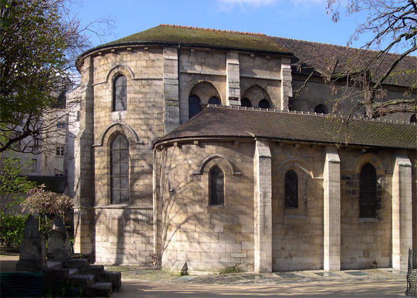 Photo du Monument Historique Eglise Saint-Julien-le-Pauvre situé à Paris 5e Arrondissement