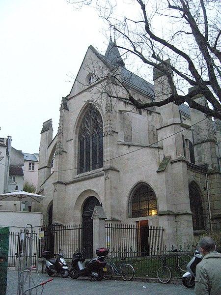 Photo du Monument Historique Eglise Saint-Médard situé à Paris 5e Arrondissement