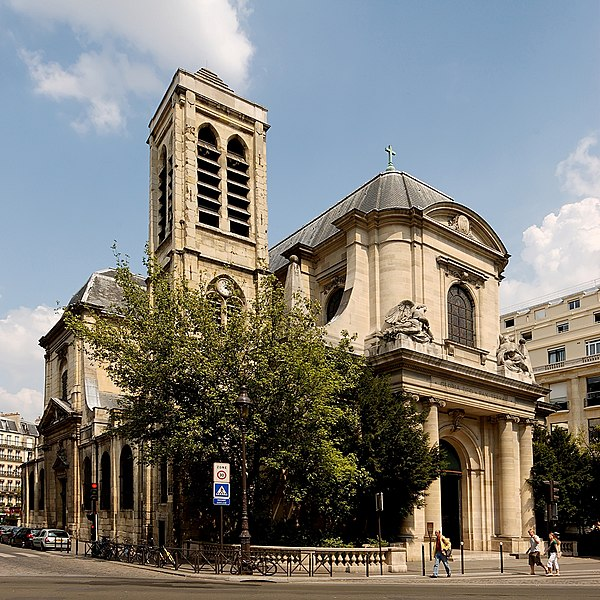 Photo du Monument Historique Eglise Saint-Nicolas-du-Chardonnet situé à Paris 5e Arrondissement