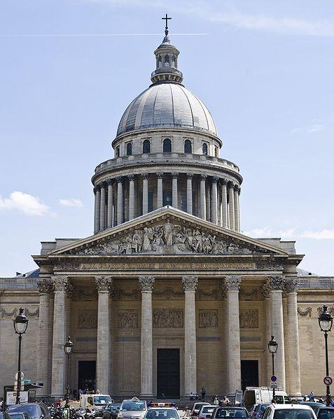Photo du Monument Historique Ancienne église Sainte-Geneviève, devenue Le Panthéon situé à Paris 5e Arrondissement