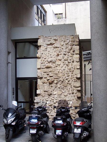 Photo du Monument Historique Enceinte de Philippe-Auguste situé à Paris 5e Arrondissement
