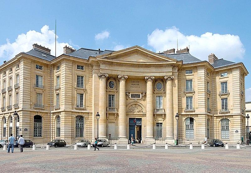 Photo du Monument Historique Faculté de Droit de Paris situé à Paris 5e Arrondissement