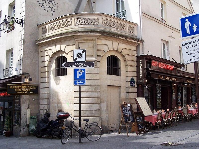Photo du Monument Historique Fontaine du Pot-de-Fer situé à Paris 5e Arrondissement