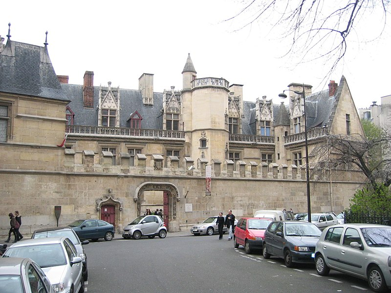 Photo du Monument Historique Ancien hôtel de Cluny et Palais des Thermes, actuellement Musée National du Moyen-Age situé à Paris 5e Arrondissement