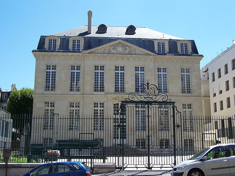 Photo du Monument Historique Hôtel Le Brun situé à Paris 5e Arrondissement