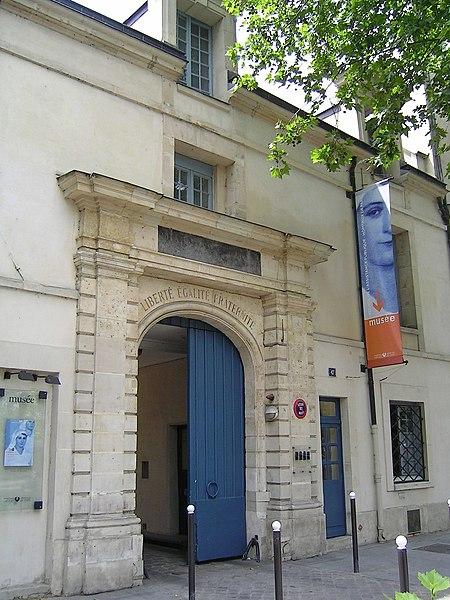 Photo du Monument Historique Ancien hôtel de Miramion, ancien musée de l'Assistance publique situé à Paris 5e Arrondissement