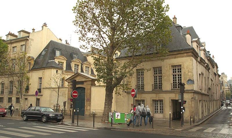 Photo du Monument Historique Hôtel de Nesmond situé à Paris 5e Arrondissement